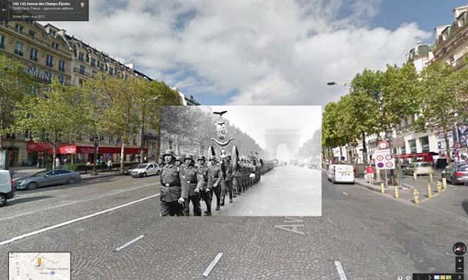 Φωτογραφίες του Β' Παγκοσμίου Πολέμου στο Google Street View (5)