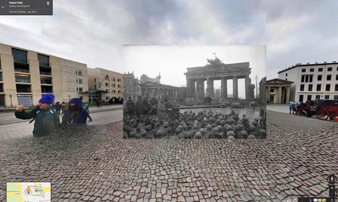Φωτογραφίες του Β' Παγκοσμίου Πολέμου στο Google Street View (9)
