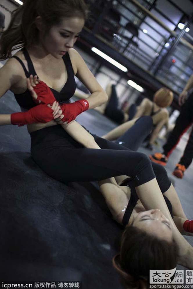 Γυναίκες σωματοφύλακες στην Κίνα (5)