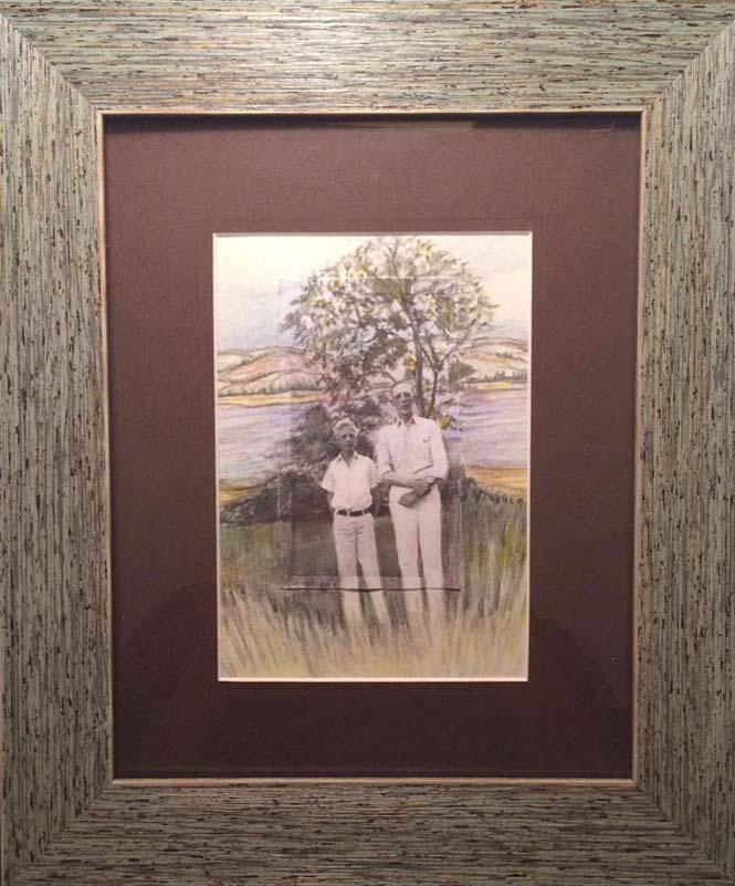 Καλλιτέχνης επεκτείνει φωτογραφίες πέρα από τα πλαίσια τους με χρωματιστά μολύβια (2)