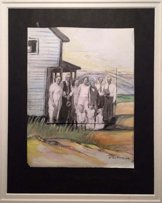 Καλλιτέχνης επεκτείνει φωτογραφίες πέρα από τα πλαίσια τους με χρωματιστά μολύβια (3)
