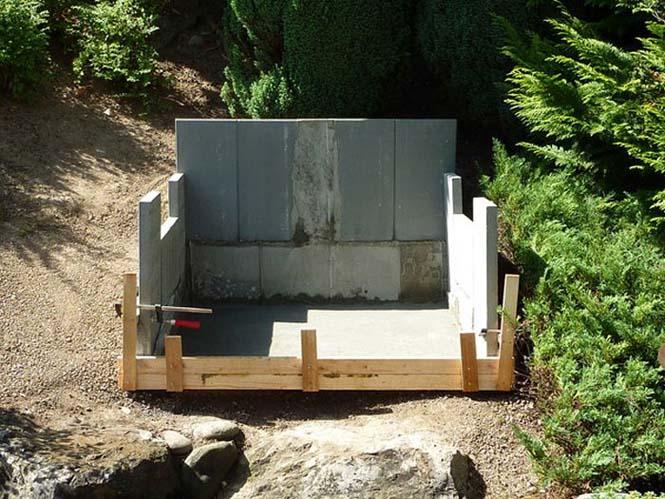 Η κατασκευή ενός ξυλόφουρνου (4)