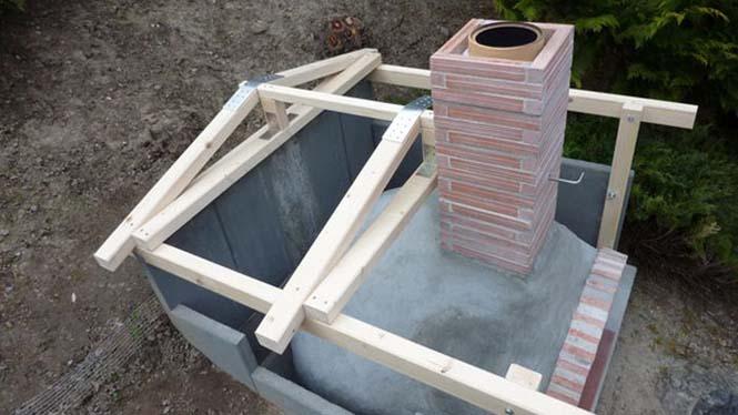 Η κατασκευή ενός ξυλόφουρνου (22)
