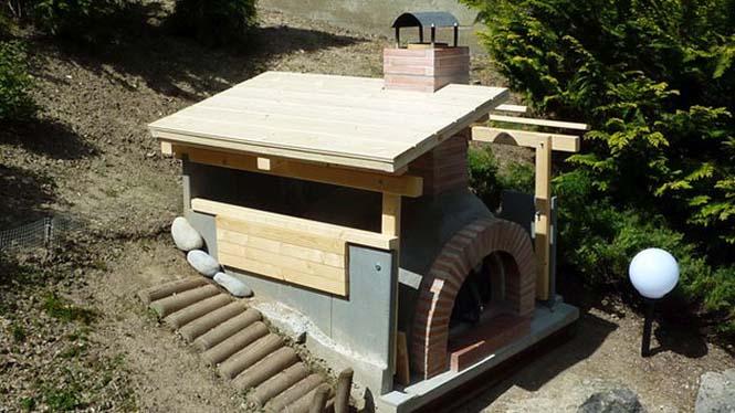 Η κατασκευή ενός ξυλόφουρνου (24)