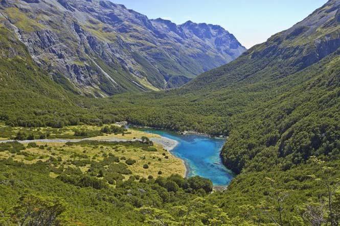 Κρυστάλλινη λίμνη στη Νέα Ζηλανδία (3)