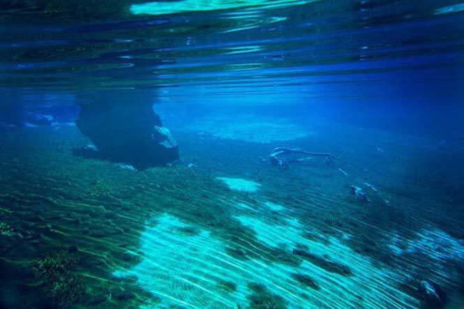 Κρυστάλλινη λίμνη στη Νέα Ζηλανδία (8)