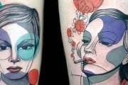 Μοντέρνα τατουάζ από την Steph Hanlon (1)