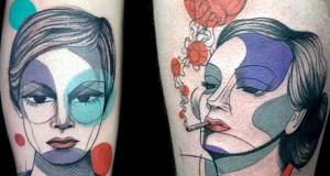Μοντέρνα τατουάζ από την Steph Hanlon
