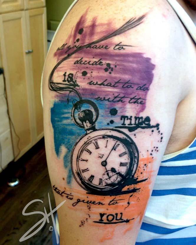Μοντέρνα τατουάζ από την Steph Hanlon (2)