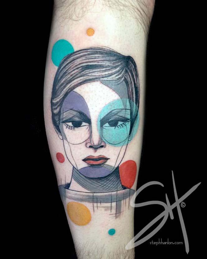 Μοντέρνα τατουάζ από την Steph Hanlon (8)