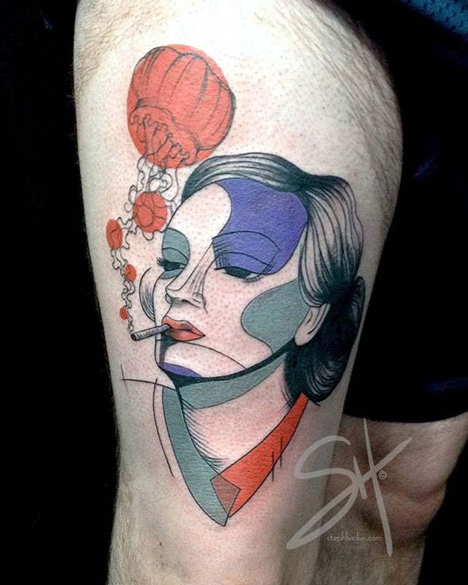 Μοντέρνα τατουάζ από την Steph Hanlon (12)