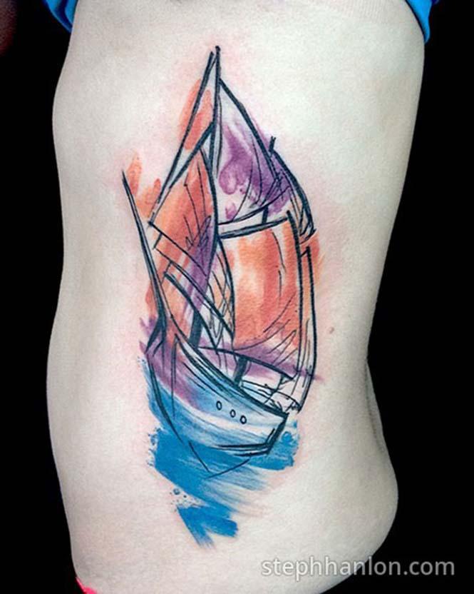 Μοντέρνα τατουάζ από την Steph Hanlon (19)