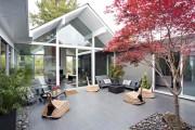 Μοντέρνο σπίτι στην Καλιφόρνια με υπέροχη εσωτερική βεράντα (1)
