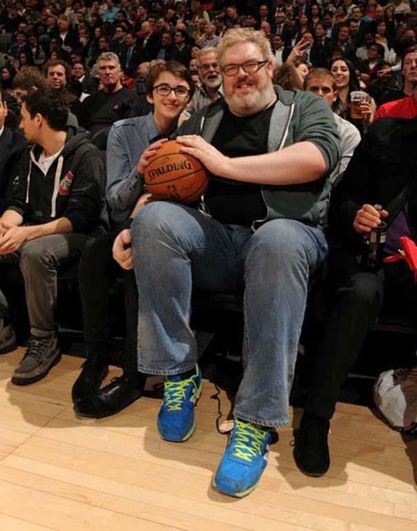 Όταν οι πρωταγωνιστές του Game of Thrones... ξεσαλώνουν! (7)