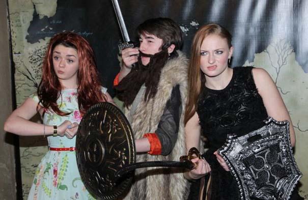 Όταν οι πρωταγωνιστές του Game of Thrones... ξεσαλώνουν! (13)
