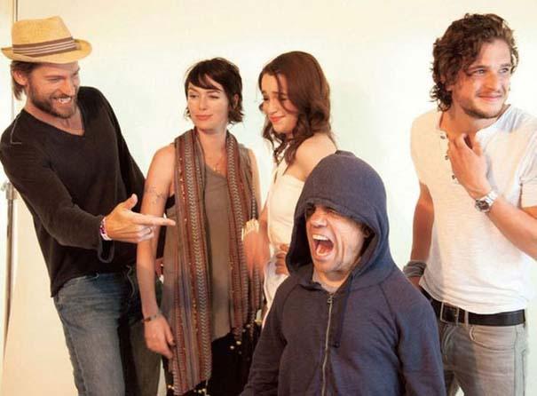 Όταν οι πρωταγωνιστές του Game of Thrones... ξεσαλώνουν! (3)