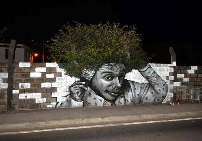 Όταν η τέχνη του δρόμου γίνεται ένα με το περιβάλλον (8)