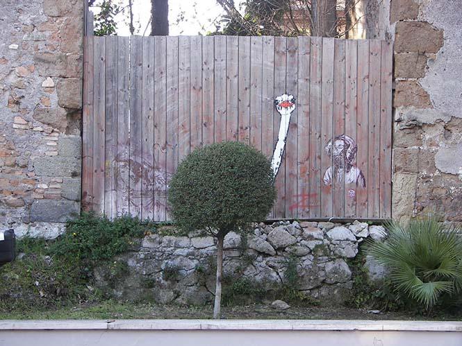 Όταν η τέχνη του δρόμου γίνεται ένα με το περιβάλλον (21)