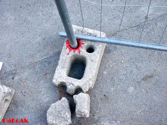 Όταν η τέχνη του δρόμου γίνεται ένα με το περιβάλλον (17)
