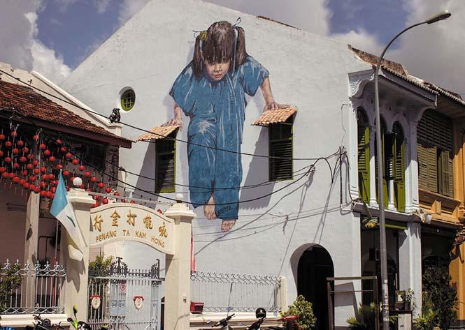 Όταν η τέχνη του δρόμου γίνεται ένα με το περιβάλλον (12)