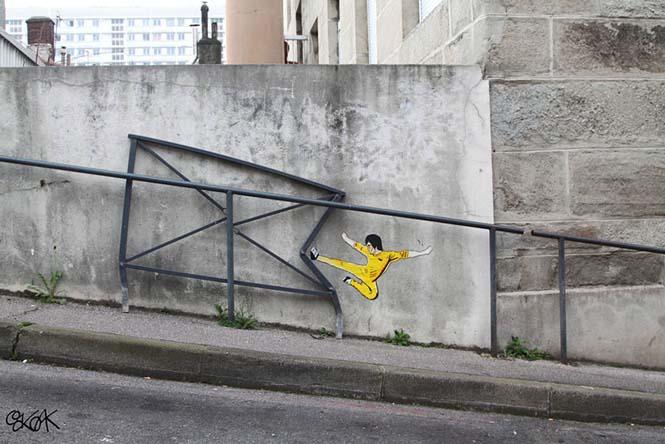 Όταν η τέχνη του δρόμου γίνεται ένα με το περιβάλλον (10)