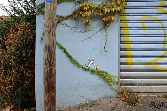 Όταν η τέχνη του δρόμου γίνεται ένα με το περιβάλλον (28)