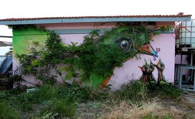 Όταν η τέχνη του δρόμου γίνεται ένα με το περιβάλλον (14)