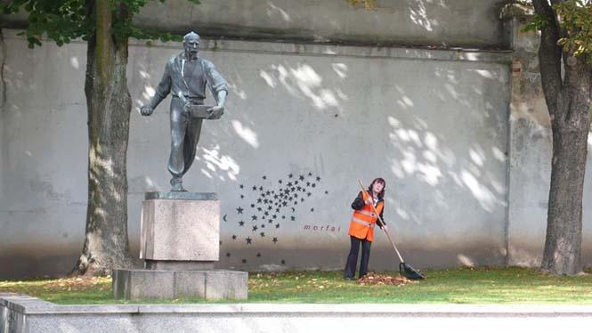 Όταν η τέχνη του δρόμου γίνεται ένα με το περιβάλλον (15)