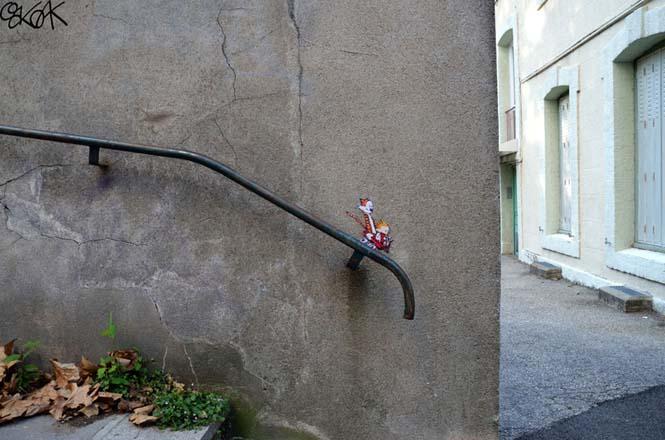Όταν η τέχνη του δρόμου γίνεται ένα με το περιβάλλον (7)