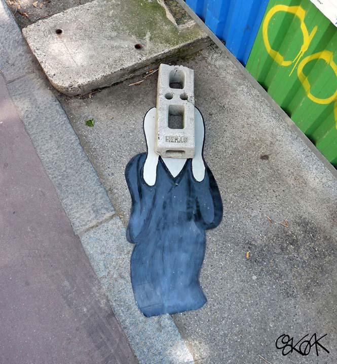 Όταν η τέχνη του δρόμου γίνεται ένα με το περιβάλλον (31)