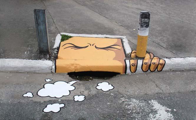 Όταν η τέχνη του δρόμου γίνεται ένα με το περιβάλλον (32)