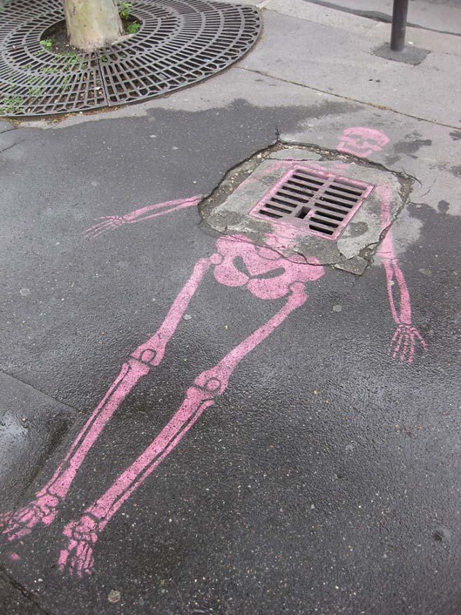 Όταν η τέχνη του δρόμου γίνεται ένα με το περιβάλλον (13)