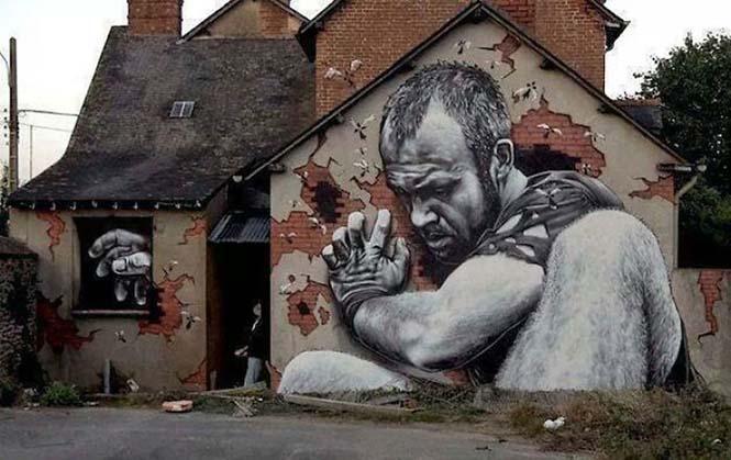 Όταν η τέχνη του δρόμου γίνεται ένα με το περιβάλλον (25)