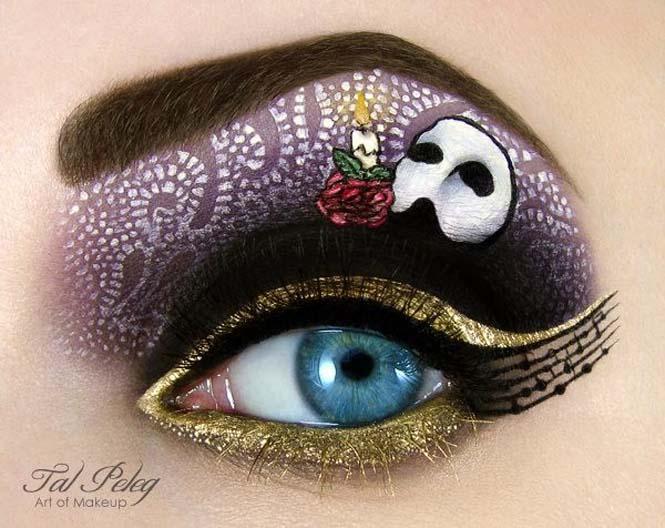 Make-up artist δημιουργεί παραμυθένια μακιγιάζ ματιών (4)