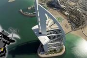 Πετώντας πάνω από το Burj Khalifa με ένα drone