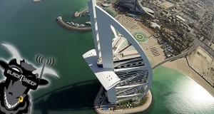 Πετώντας πάνω από το ψηλότερο κτήριο του κόσμου με ένα drone (Video)