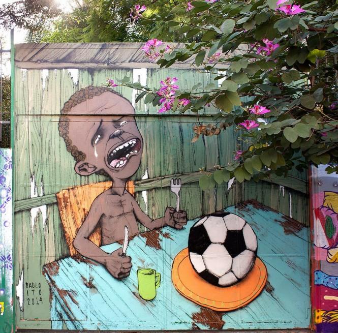 Η άλλη πλευρά του Mundial της Βραζιλίας | Φωτογραφία της ημέρας