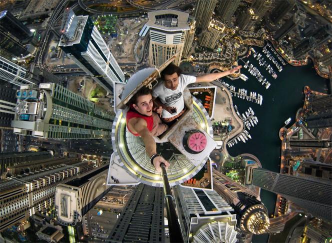 Selfie πάνω από 101 ορόφους   Φωτογραφία της ημέρας