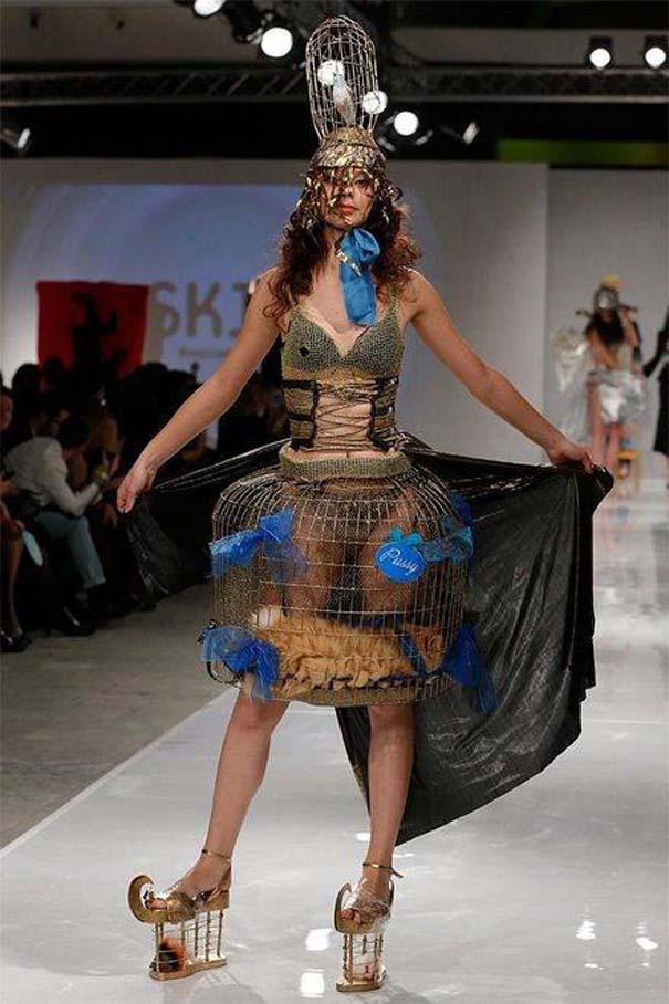 Τα πιο περίεργα πράγματα που έχουν φορεθεί σε μια επίδειξη μόδας (11)