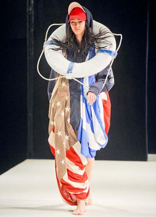 Τα πιο περίεργα πράγματα που έχουν φορεθεί σε μια επίδειξη μόδας (22)