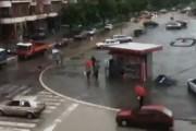 Πλημμύρα κατακλύζει μια πόλη μέσα σε 5 λεπτά
