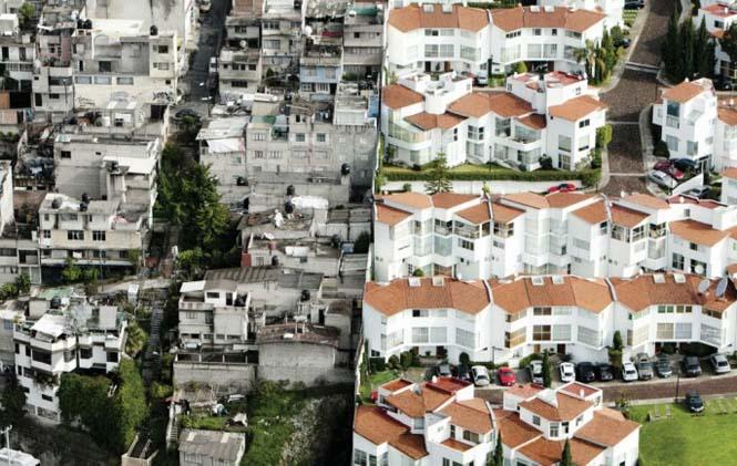 Πλούσιοι και φτωχοί σε απόσταση εκατοστών (1)