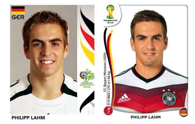 Ποδοσφαιριστές του Mundial: Τότε και τώρα (1)