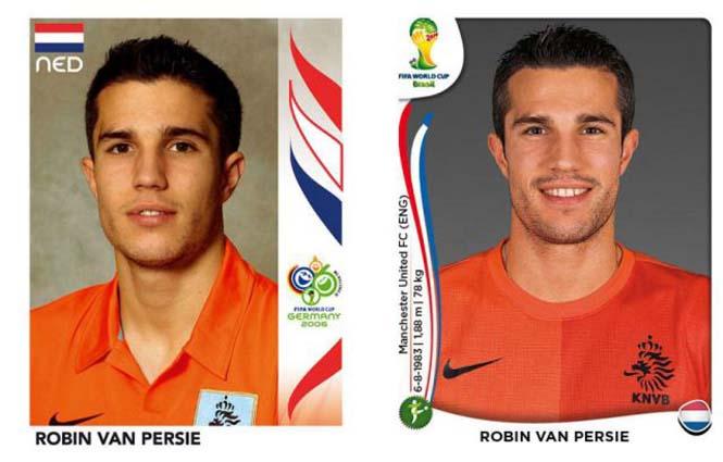 Ποδοσφαιριστές του Mundial: Τότε και τώρα (2)