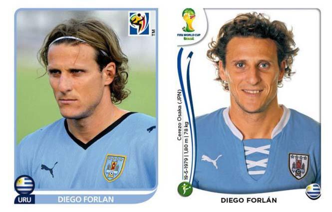 Ποδοσφαιριστές του Mundial: Τότε και τώρα (3)
