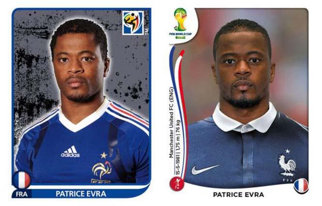 Ποδοσφαιριστές του Mundial: Τότε και τώρα (4)