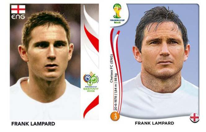 Ποδοσφαιριστές του Mundial: Τότε και τώρα (5)
