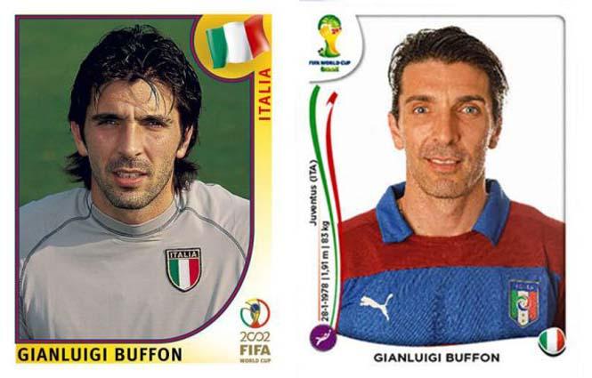 Ποδοσφαιριστές του Mundial: Τότε και τώρα (7)