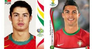 Ποδοσφαιριστές του Mundial: Τότε και τώρα