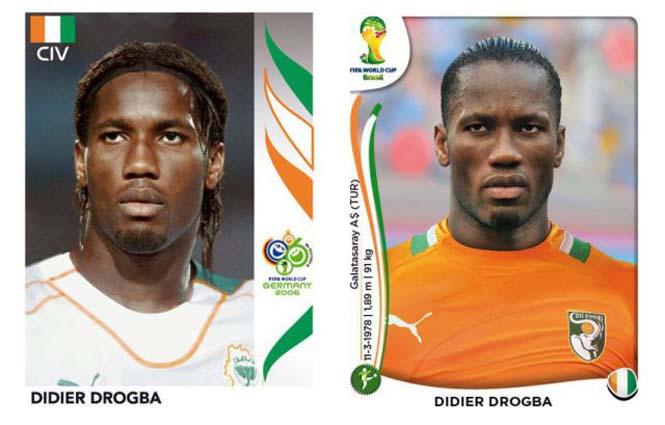 Ποδοσφαιριστές του Mundial: Τότε και τώρα (11)